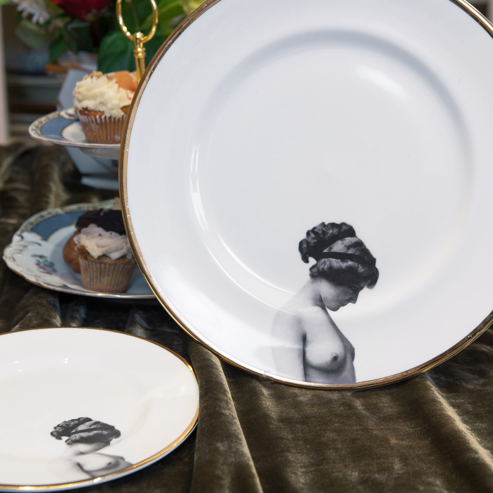 The Girl Bone China Plate & The Girl Bone China Plate | Melody Rose London