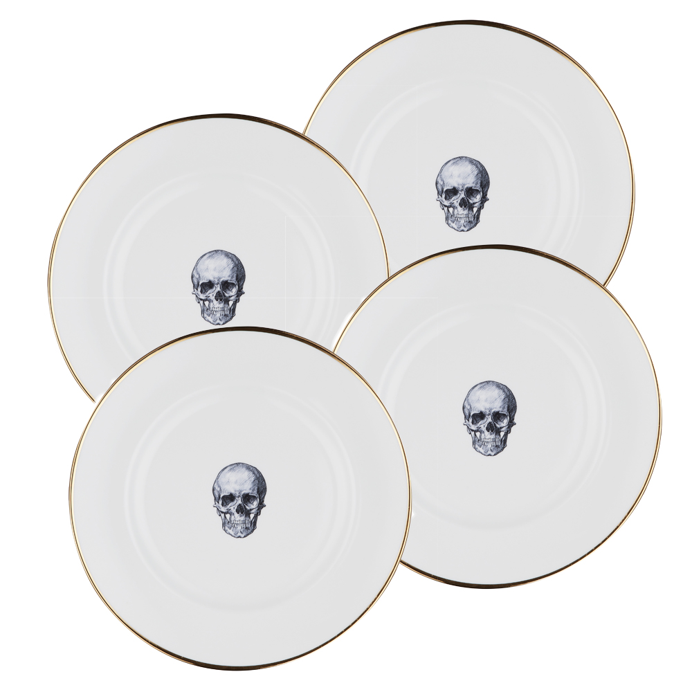 Rock and Roll set of 4 Dinner Plates  sc 1 st  Melody Rose & Rock and Roll set of 4 Dinner Plates   Melody Rose London