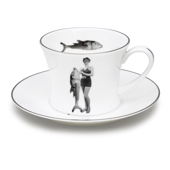 Melody Rose, Lee Miller teacup and saucer