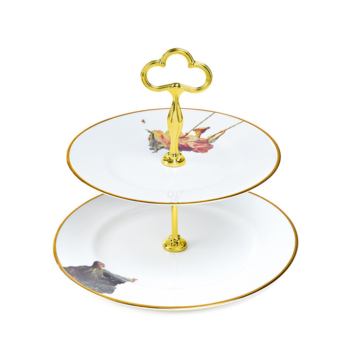 Melody Rose, The Wallace Collection - The Swing, Cakestand