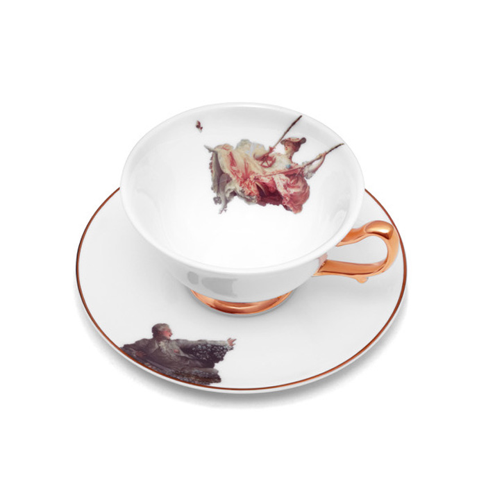 Melody Rose, The Wallace Collection - The Swing Cup & Saucer