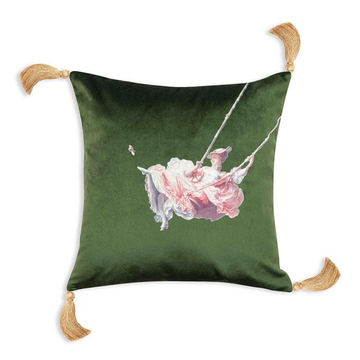 Melody Rose, The Wallace Collection - The Swing, Cushion