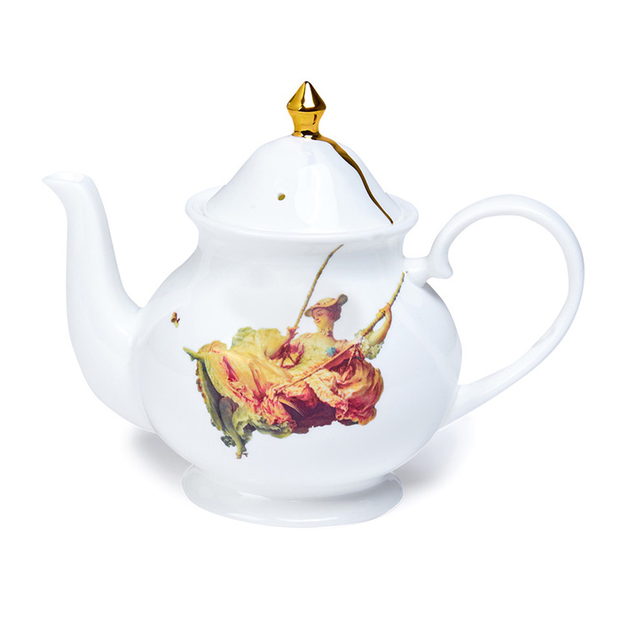 Melody Rose, The Wallace Collection - The Swing, Teapot