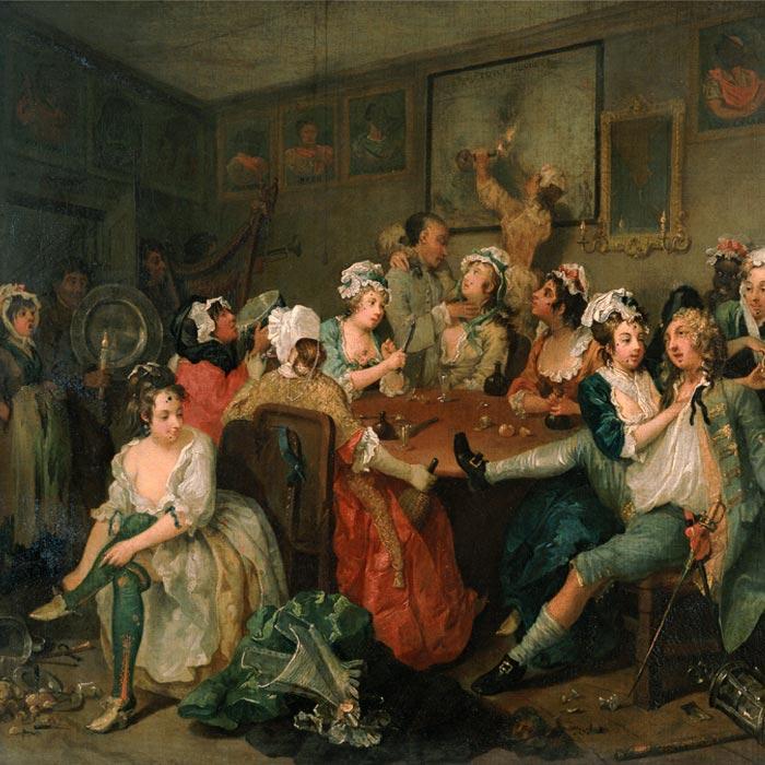 Sir John Soane's Museum, A Rake's Progress